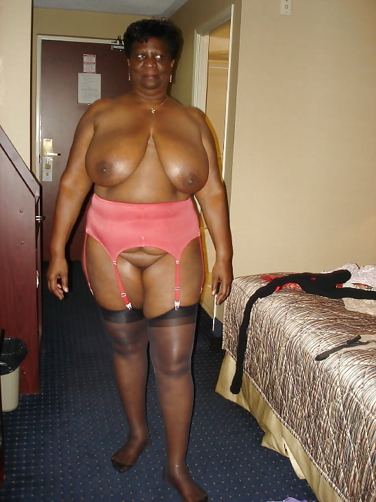 Big Luscious Black Granny