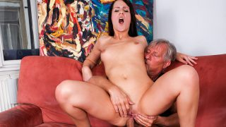 Babette wants the cock from Christoph in her ass.