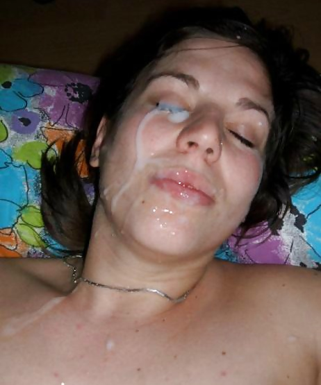 Cum Right in the eye