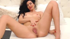 Exciting Shaved Pussy Play
