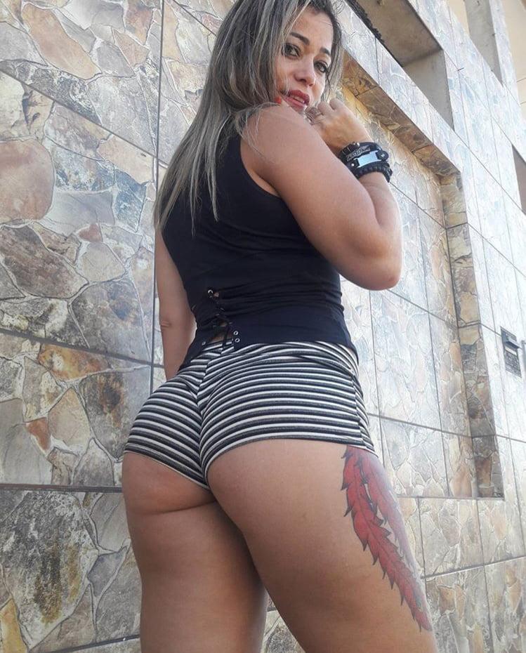 Latina Booty Shorts #5