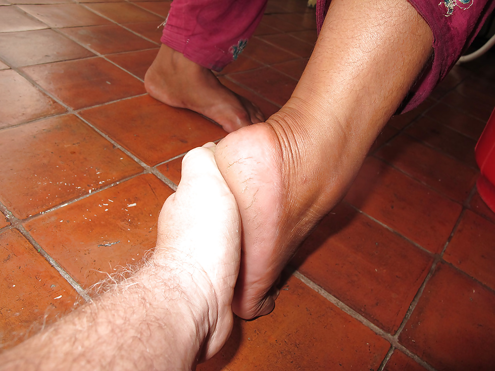 Nepali woman foot fetish 05