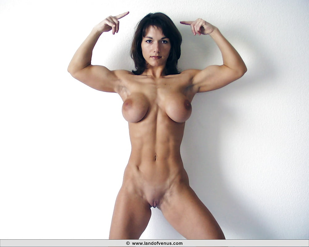 Woman with muscle