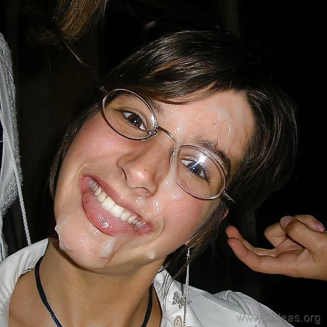 Girls With Glasses & Cum