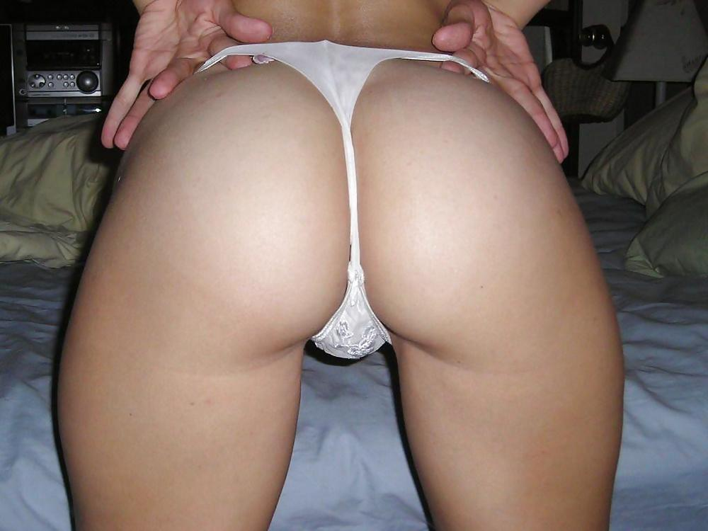 thong and ass and pussy