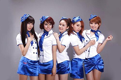 Sexy Flight Attendants